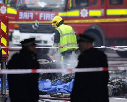 At least two dead in London helicopter crash