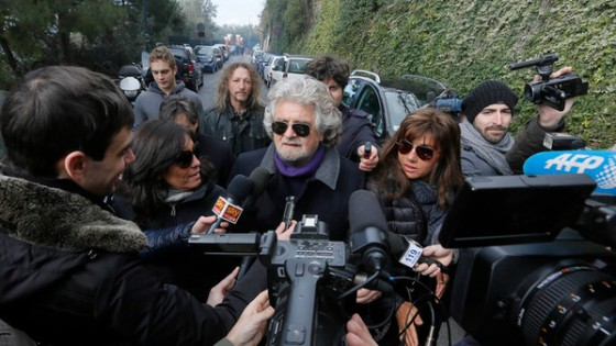 ITALY-POLITICS-VOTE-GRILLO