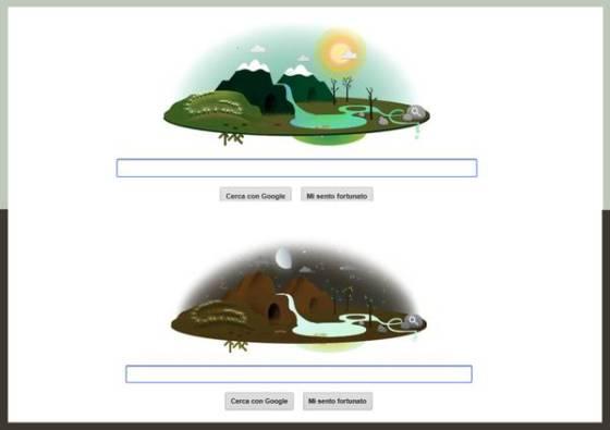 Doodle di Google nella ''Giornata della Terra''