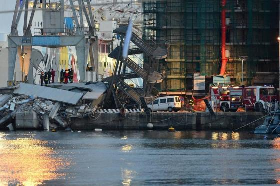 ITALY-SHIPPING-ACCIDENT