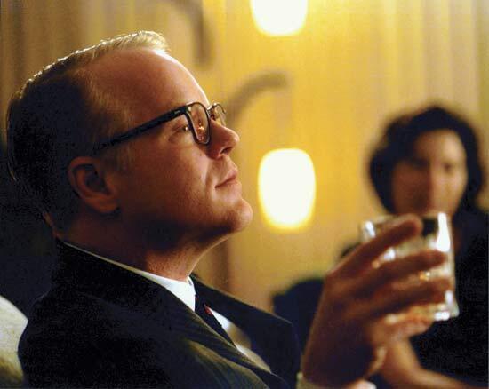 Philip Seymour #Hoffman como Truman #Capote